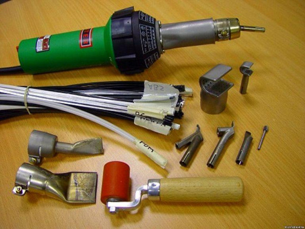 Фото: инструменты для сварки пластикового бампера