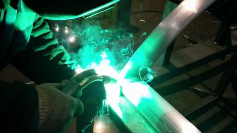 Фото: аргонодуговая сварка цветных металлов